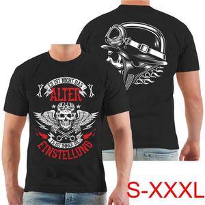 T-SHIRT t - shirt biker es ist nicht das alter - es ist di