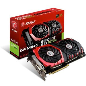 CARTE GRAPHIQUE INTERNE MSI Carte Graphique GeForce GTX 1070 Ti GAMING  8G