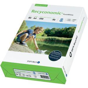 PAPIER IMPRIMANTE Ramette500 feuilles A4 80 g Recyconomic90