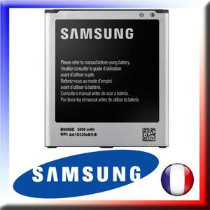 Batterie téléphone Batterie Originale B600BE SAMSUNG GT-I9505 Galaxy