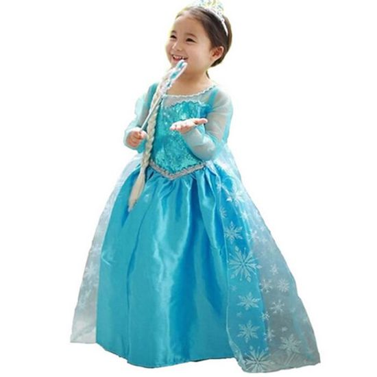 Winter Toddler Baby Girls Christmas Party Lace Tutu Dress Cosplay