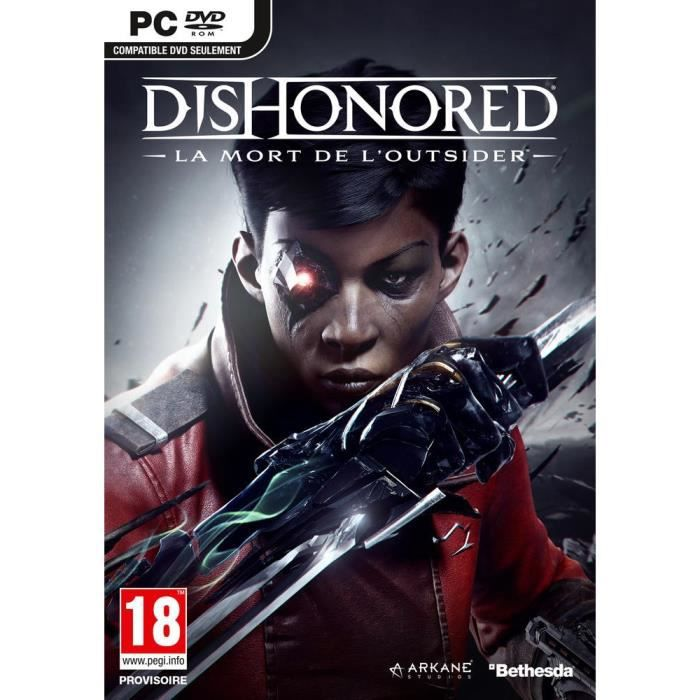 Dishonored : La Mort de l'Outsider Jeu PC