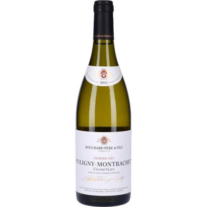 Vin Blanc - Puligny-Montrachet 1er Cru Champ-Gain 2015 - Bouteille 75cl