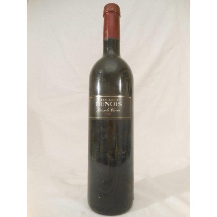 VDP d'oc jl denois grande cuvée rouge 2001 - languedoc