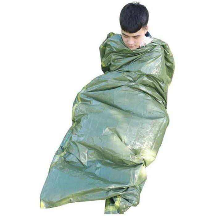 couverture de secours durgence - isolation thermique, les sacs de couchage, de lécran solaire voyage plein air convenables pour le