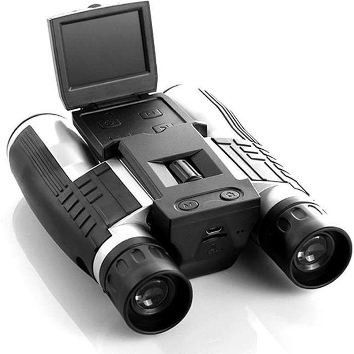 2- LCD Écran 12x32 Zoom Digital Jumelles Caméra vidéo 5MP 1080p HD