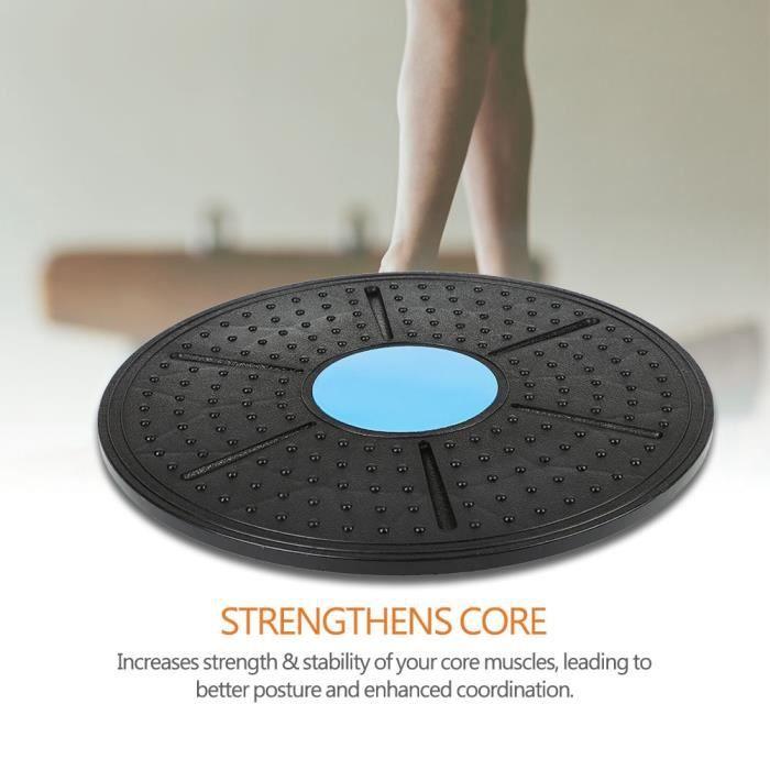 Garosa Fitness Body Balance Board Balance Stability Board 37cm Rééducation Fitness Exercise Training Yoga