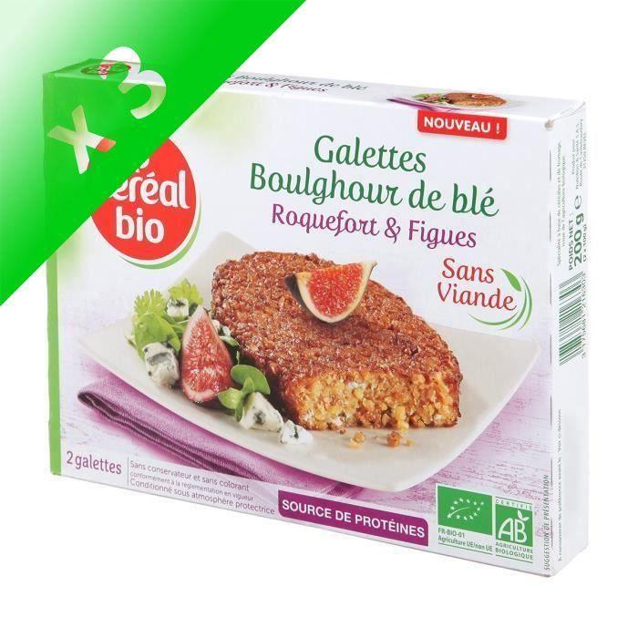 [LOT DE 3] CEREAL BIO Galettes à base de céréales et de fromage Bio - 150 g