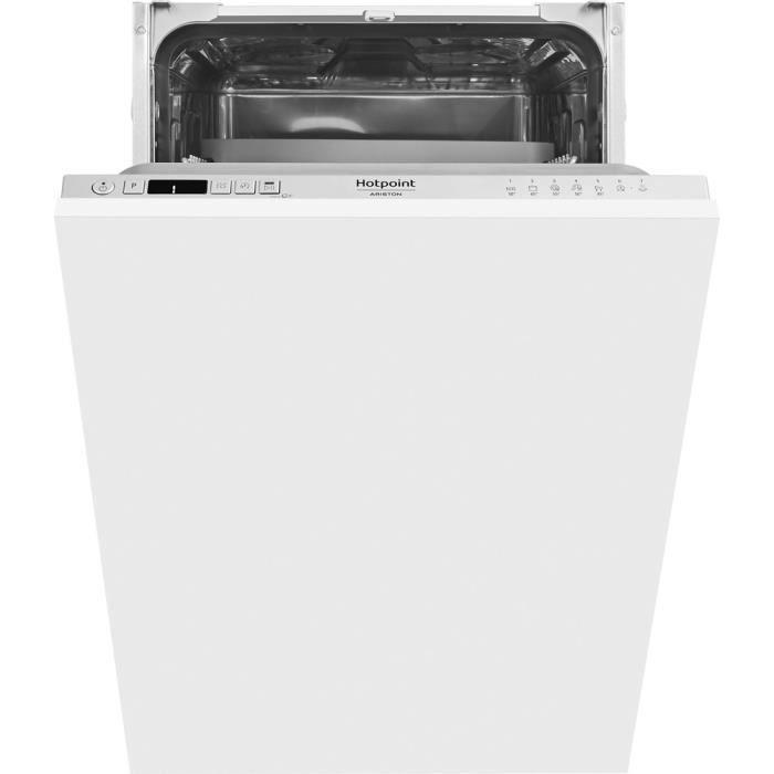 Lave-vaisselle HOTPOINT HSIC3M19C 10 Cts Slimline 45cm intégré A+