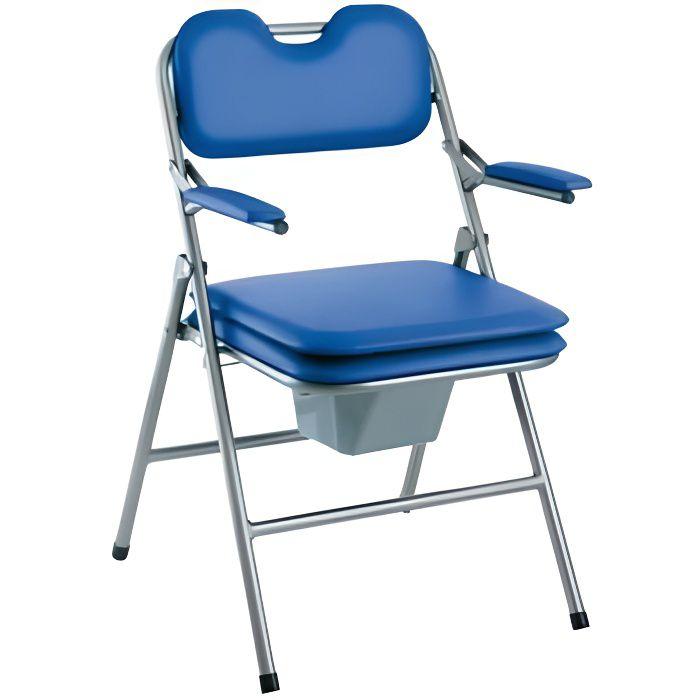 Chaise de toilettes percée pliante Omega H407