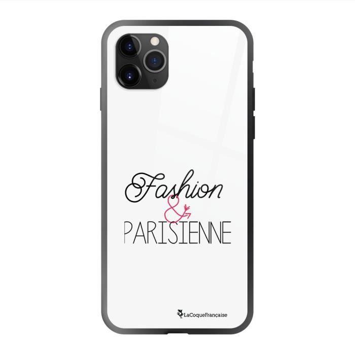Coque en verre trempé iPhone 11 Pro Fashion et Parisienne Ecriture Tendance et Design La Coque Francaise.