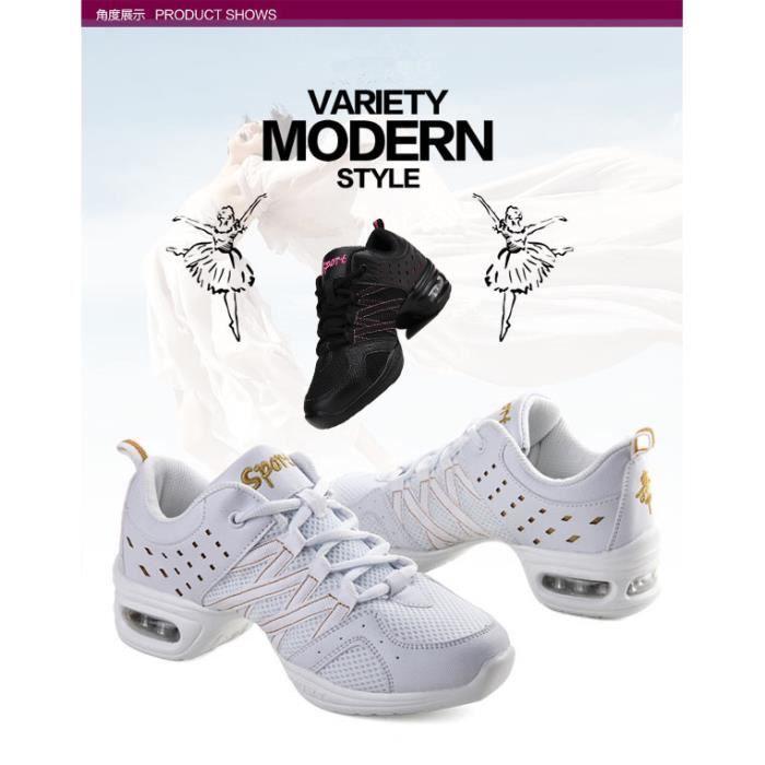 Baskets Femme Fille Chaussures Danse Sneakers girls Chaussures Chaussure talons hauts