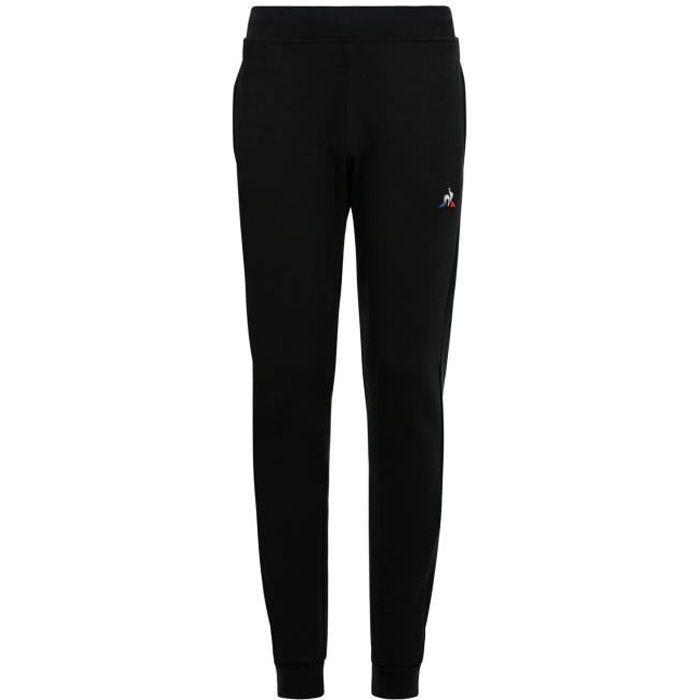 Pantalon Le Coq Sportif Essentiels Slim noir enfant