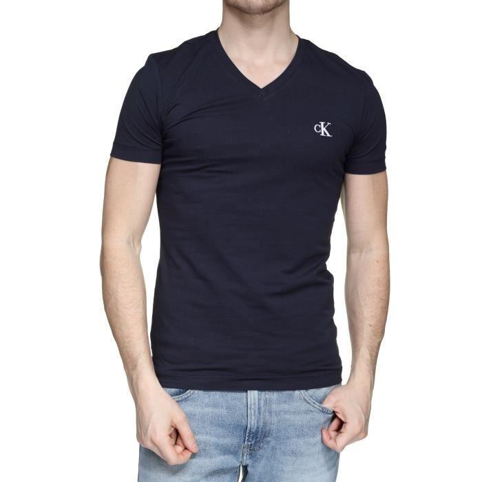 Tee Shirt Calvin Klein J30j314998 Essential Sli...