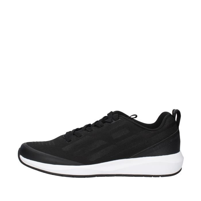 Ea7 X8X031 chaussures de tennis faible homme NOIR