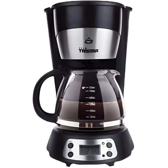 TRISTAR CM1235 Cafetière filtre programmable - Noir