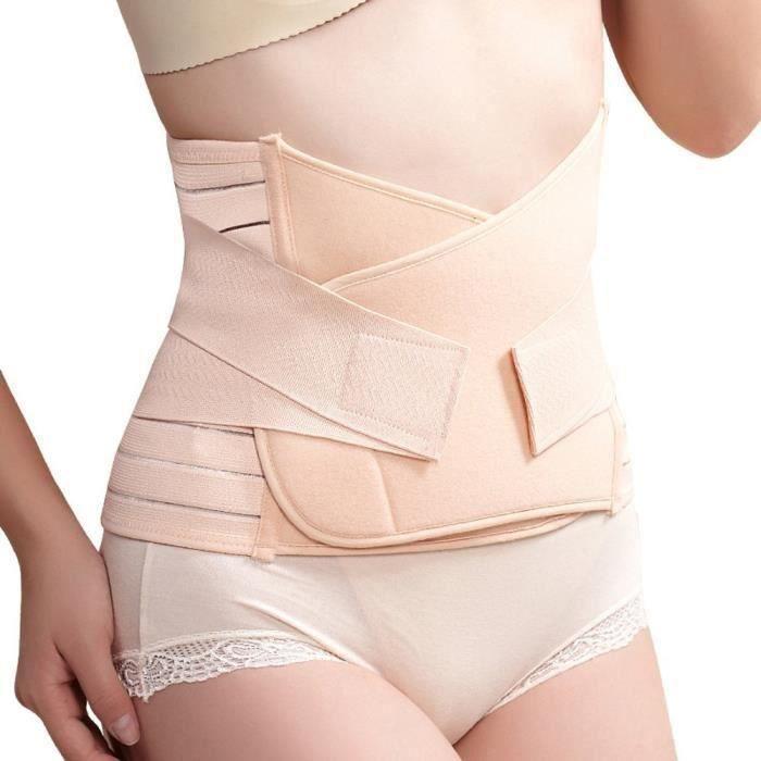 Ceinture respirable Forme Récupération Postpartum Bande Post-Partum abdomen -Après Grossesse-Maternité Ceinture abdominale