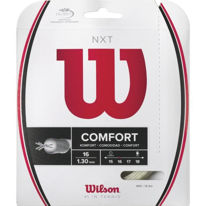 Wilson Nxt 16 Cordage de raquette Multicolore