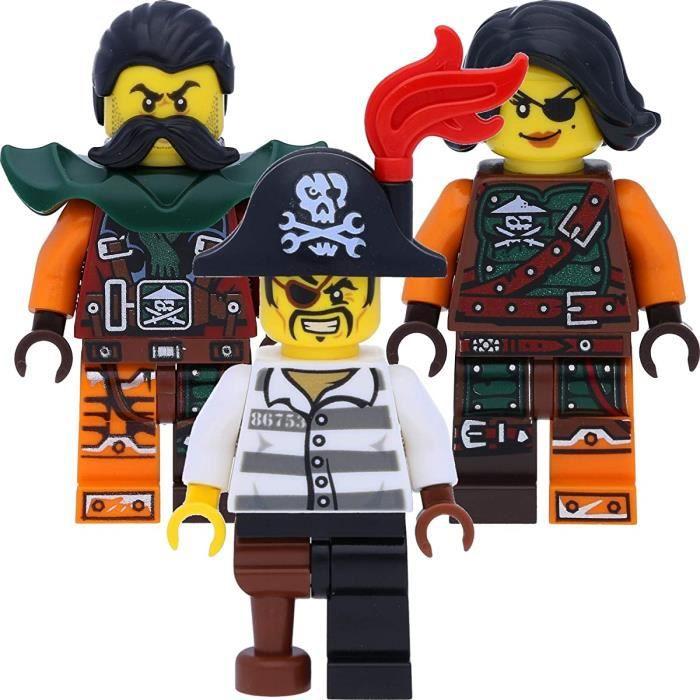 SACHET POLYBAG NEUFSET LEGO FIGURINE MINIFIGURE NINJAGO CYREN LA FILLE PIRATE