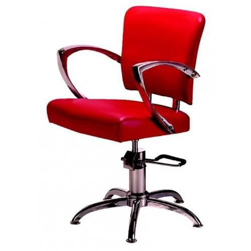 fauteuil coiffure napoli rouge achat vente fauteuil. Black Bedroom Furniture Sets. Home Design Ideas