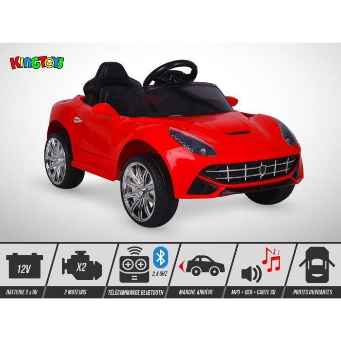 VOITURE ELECTRIQUE ENFANT Voiture électrique enfant KINGTOYS - Roadster F16