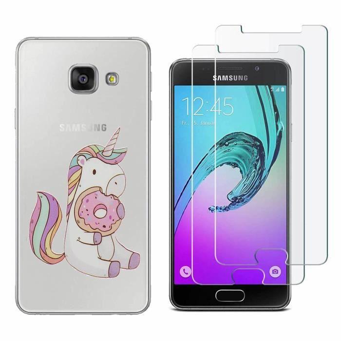 Coque Samsung Galaxy A3 2016 Licorne Biscuit TPU Housse Étui Pour Samsung Galaxy A3 (2016) SM-A310F 4.7