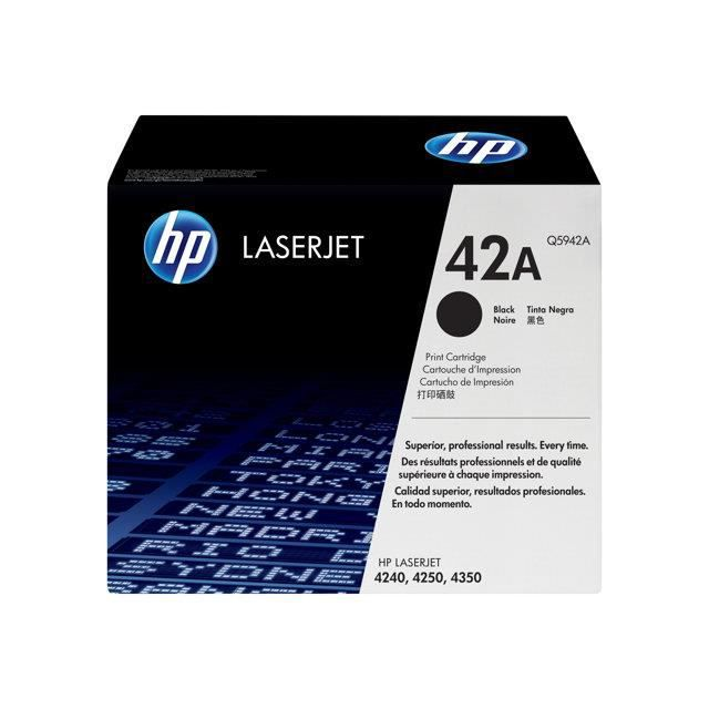 CARTOUCHE IMPRIMANTE Consommable HP Q5942A
