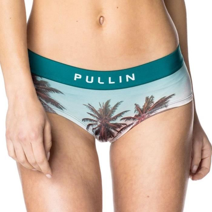 PULL IN Shorty Femme Microfibre PALMSPRINGS
