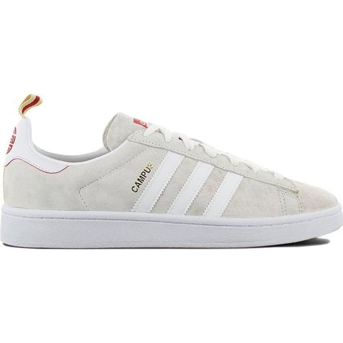 adidas campus homme rouge