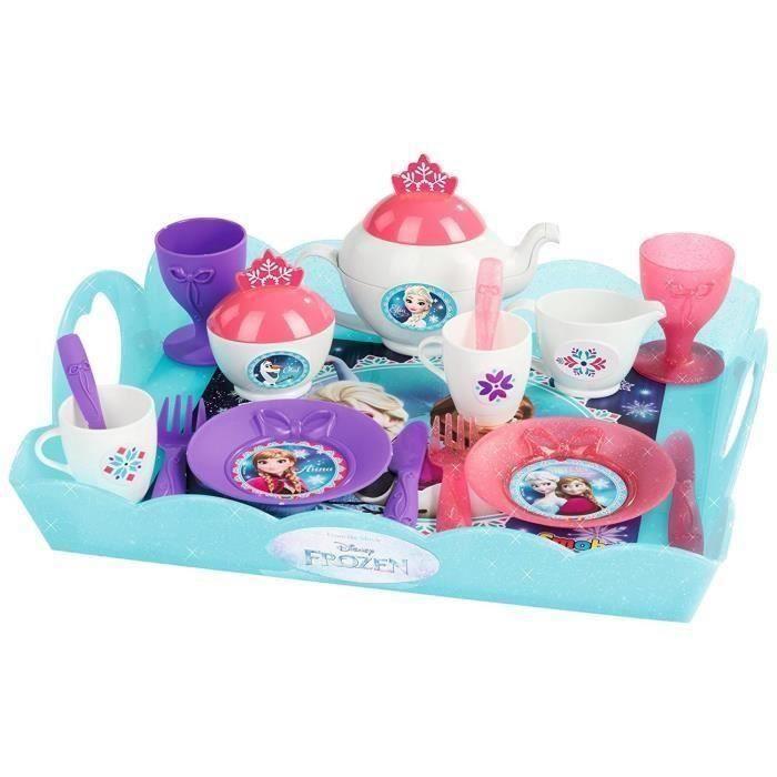 Disney Smoby Frozen thème tea time Chariot