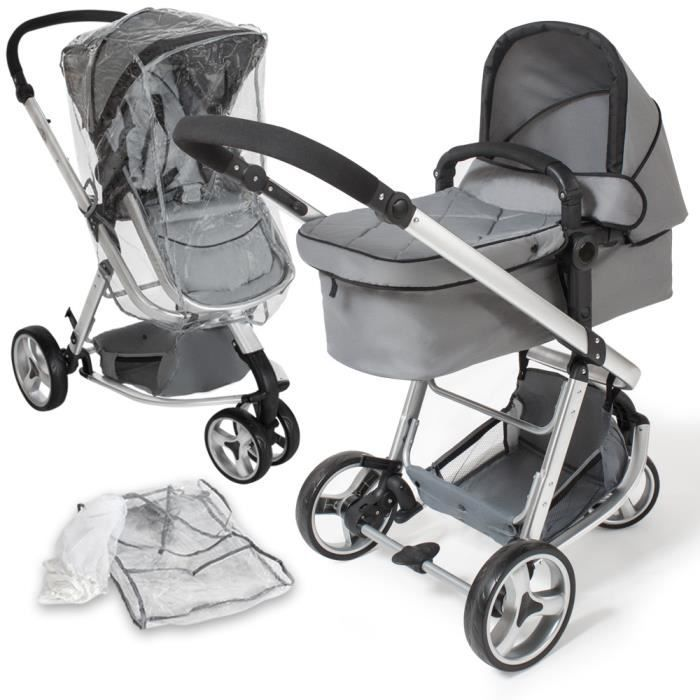 porte bebe transformable poussette