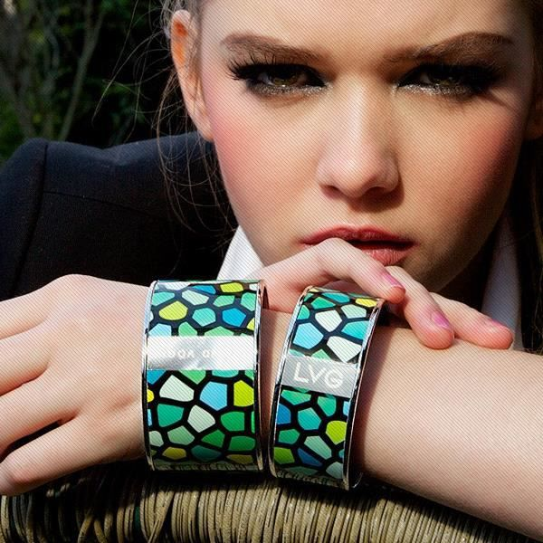 Legend Vogue - Bracelet Bangle Or Jaune Tribal ...