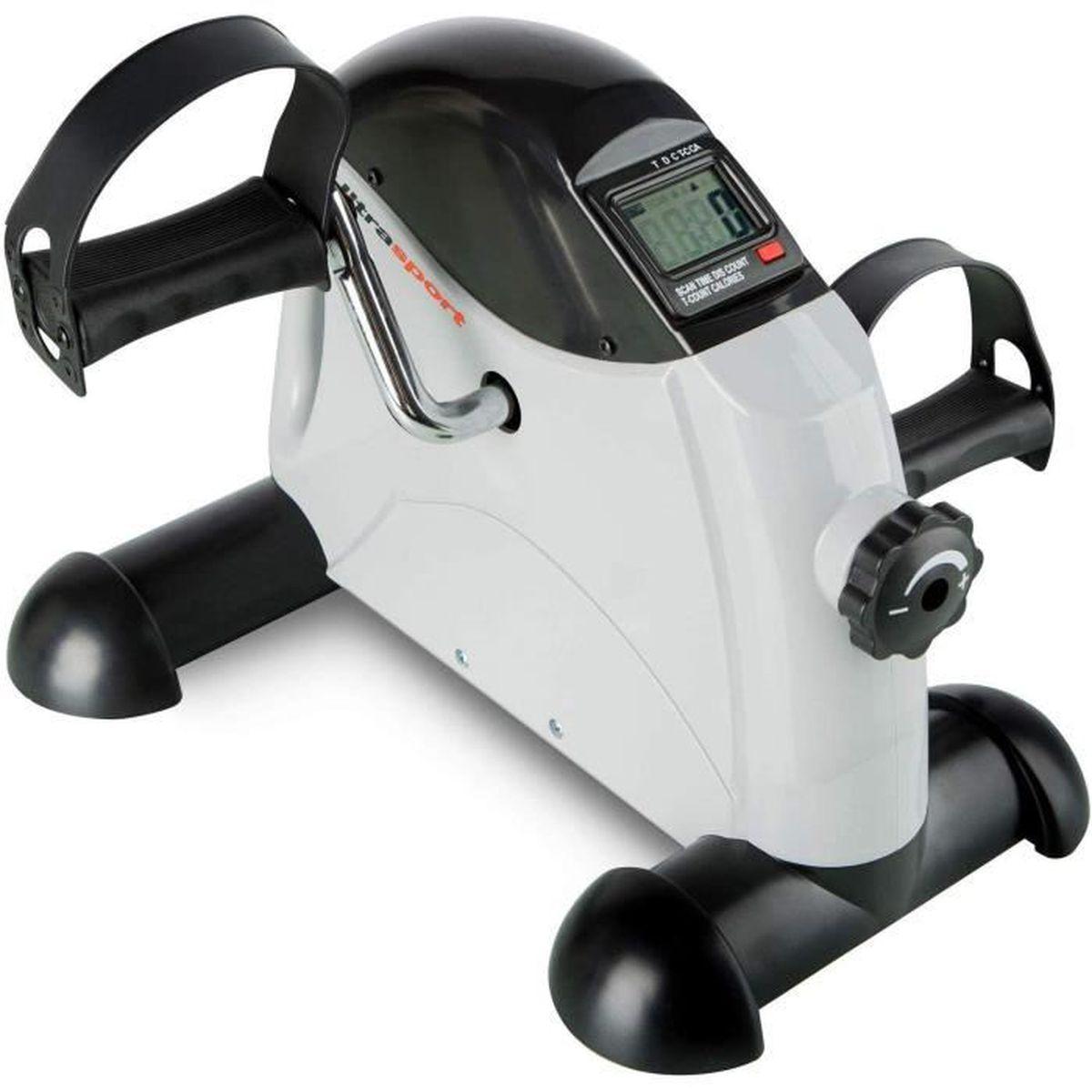Blanc Avec moteur et accoudoir,portable Mini v/élo dappartement pour les bras et les jambes