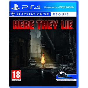 JEU PS VR Here They Lie VR