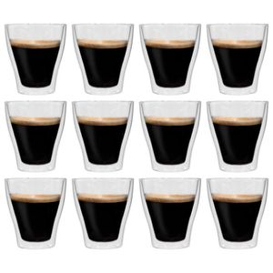 Kitchencraft Le /'Xpress isotherme à double paroi Irish Coffee lunettes Set de 2
