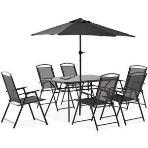 Table de jardin 6 places