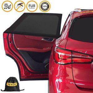 animaux domestiques YANX Pack 2 pi/èces arri/ère SunShades Protection universelle pour pare-brise de voiture pare-soleil pour b/éb/é convient /à la plupart des tailles de voitures enfants
