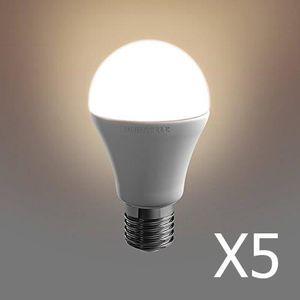 AMPOULE - LED Pack 5  ampoules Duracell LED E27 40W A-Shape    C
