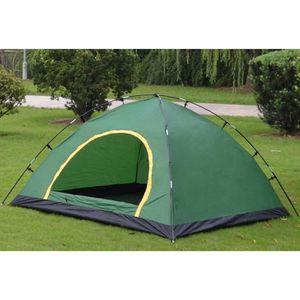 SAC DE COUCHAGE Tente 3~4 Personnes de Camping Familiale Double-la