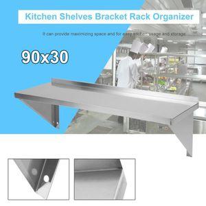 PANIER DE PLACARD étagère murale en acier inoxydable rack en acier i