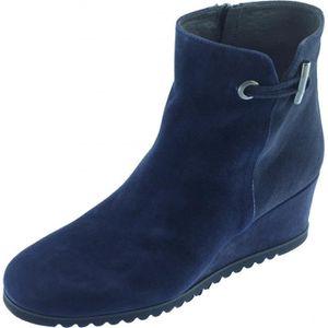 chaussure compens�e bleu