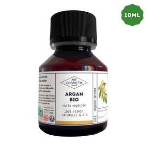 HYDRATANT CORPS Huile végétale d'Argan BIO - MyCosmetik - 10 ml