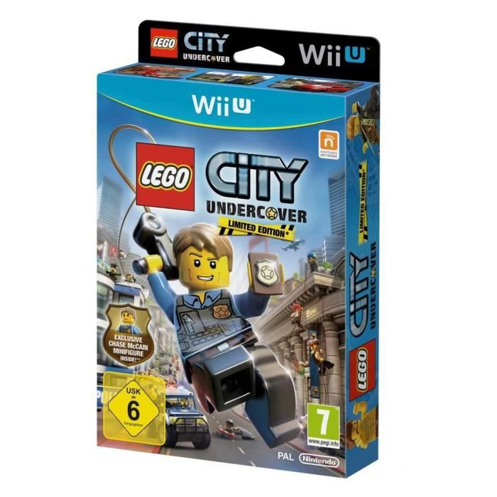 LEGO City Undercover Jeu Wii U(Figurine Exclusive)