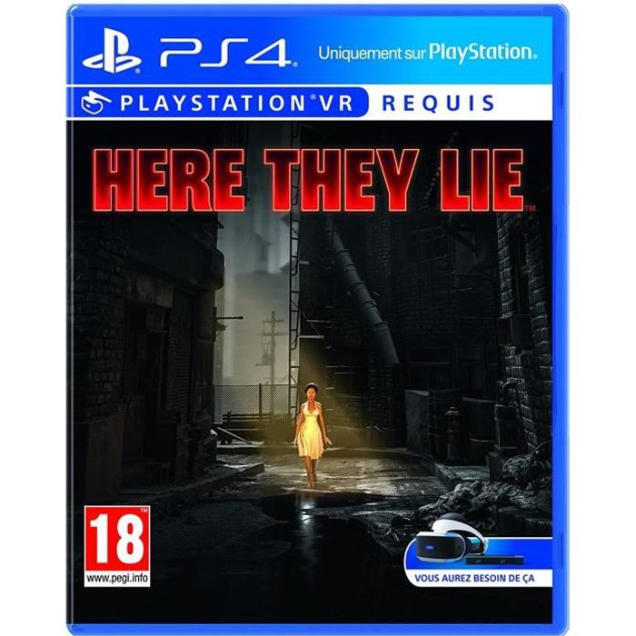 Here They Lie VR