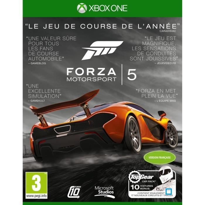 forza motorsport 5 goty jeu xbox one avis test cdiscount. Black Bedroom Furniture Sets. Home Design Ideas