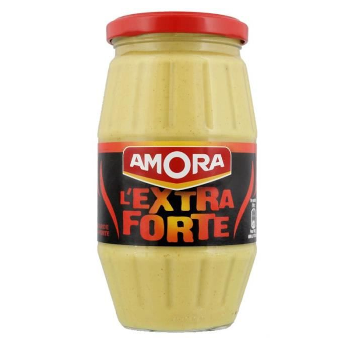 AMORA Moutarde extra forte - 440 g