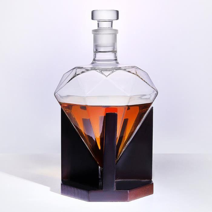 SEA® Carafe à Diamant - Whisky - 850 ML - Carafe à vin