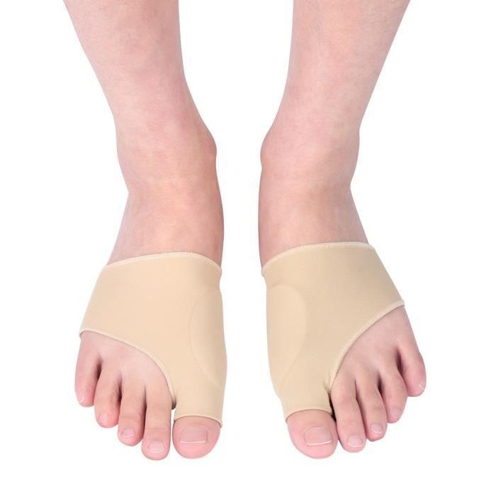 2correcteur marteau orteil attelle redresseur orthopédique orthèse hallux valgus