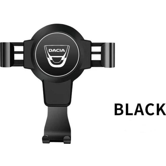 Tapis voiture,Support de téléphone portable pour voiture,accessoire pour automobile,pour Dacia Duster Logan Sandero - Type Black