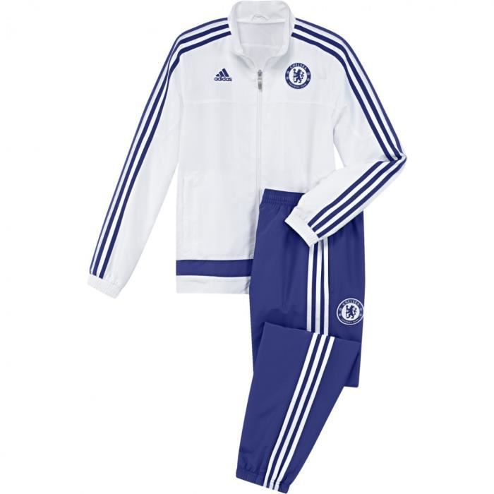 Ensembles de survêtement Adidas Performance Chelsea FC Junior 2015-2016 - S12034